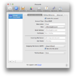 Apple Mail – Exchange – Accounts