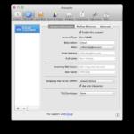 Apple Mail – Exchange – Accounts
