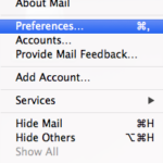 Apple Mail – Preferences