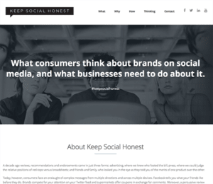 CIM – Keep Social Honest